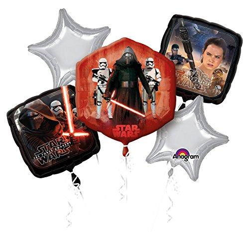 Disney Star Wars the Force Awakens Balloon Bouquet