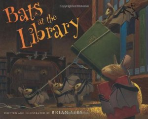 Bats at the Library by Brian Lies| wearewordnerds.com