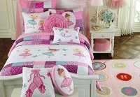Cute Ballerina Bedding For Your Little Girl