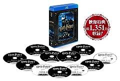 ハリー・ポッター ブルーレイ コンプリート セット 特典ディスク付(初回生産限定/11枚組) [Blu-ray]