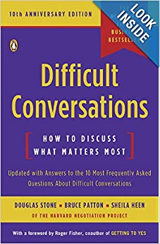 Difficult Conversations, Stone