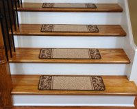 Building Supplies: -> Carpet Stair Treads - Caramel Scroll ...