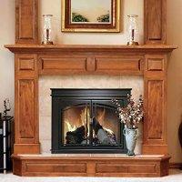 Pleasant Hearth FN-5700 Fenwick Fireplace Glass Door, Oil ...