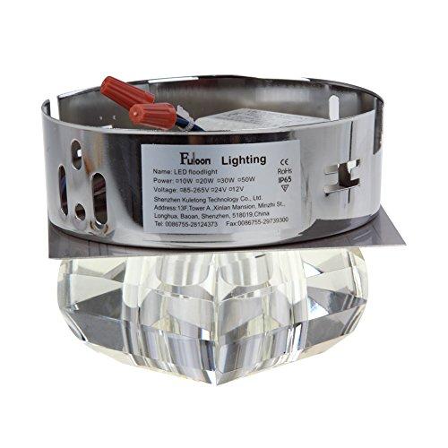 Fuloon  Moderna 3W LED Lmpara de Techo Focos de pared Colgante Cristal para Iluminacin Sala Pasillo  Tienda ArQuitexs Tienda ArQuitexs