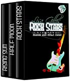 Rising Sun, Half Moon, Rock Stars: D-Strings Set (Six Silver Strings D)