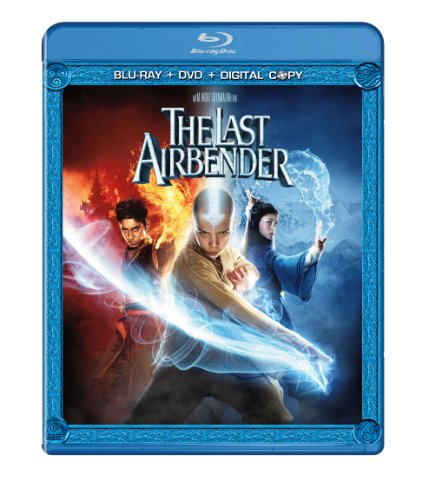 The Last Airbender (Two-Disc Blu-ray/DVD Combo + Digital Copy)-Paramount
