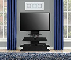 Altra Furniture Galaxy TV Stand with Mount & Drawers, 70