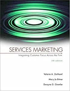 "Cover of ""Services Marketing"""