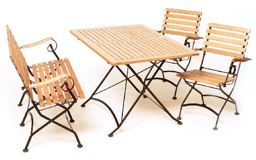 flachstahl gartenm bel sets online kaufen. Black Bedroom Furniture Sets. Home Design Ideas