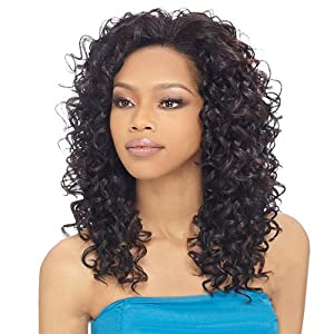 outre synthetic hair half wig quick weave bella color 1 hair extensions beauty