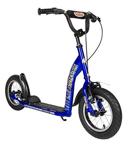 bikestar pouces prime trottinette patinette enfants couleur bleu