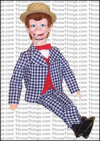 Mortimer Snerd Deluxe Upgrade Ventriloquist Dummy - Luana Diasnas