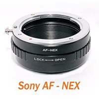 RainbowImaging Sony Alpha & Minolta AF lenses to Sony E-Mount NEX-3 NEX-5 NEX-VG10 Camera Mount Adapter (with aperture control)