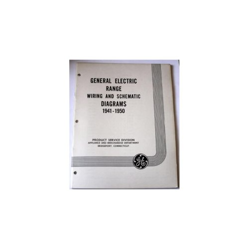 small resolution of range wiring and schematic diagrams 1941 1950 general electric books electrical wiring service manual electrical wiring on popscreen