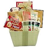 Broadway Basketeers Organic and Natural Healthy Gift Basket - A Healthy Gift Basket