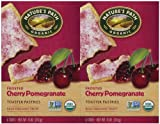 Nature's Path Frosted Toaster Pastry - Cherry Pomegranate - 11 Ounces - 6 Count