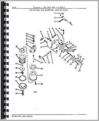John Deere 820 Tractor Parts Manual: Amazon.com