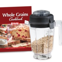 Blendtec Kitchen Mill Ikea Island 52 601 Bhm 60 Ounce Electric Grain Get Now Vitamix Eastman Tritan Copolyester 32 Container With Dry Blade Lid
