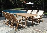 Solide 1 Gartenmöbel-Set aus Teakholz