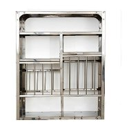 Vidya Steels Small Stainless Steel Plate Rack For Kitchen ...