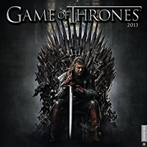 Game of Thrones 2013 Wall Calendar