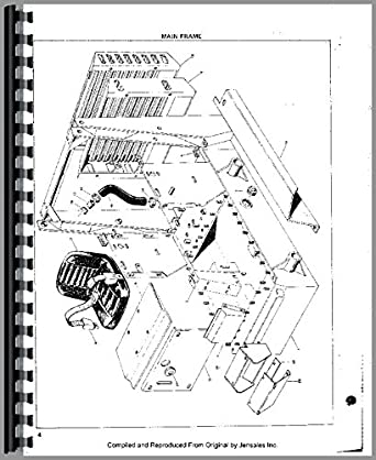 Owatonna 310 Skid Steer Loader Parts Manual: Amazon.com