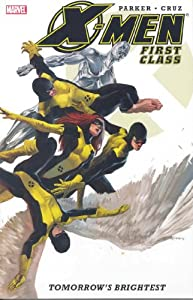 "Cover of ""X-Men: First Class : Tomorrow's..."