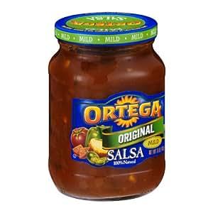 Amazoncom Ortega Salsa Prima Mild Homestyle 16 oz
