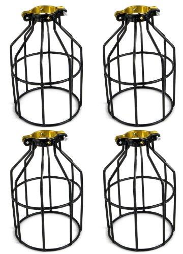 Metal Lamp Guard Bulb Holder Wire Iron Bird Cage Pendant