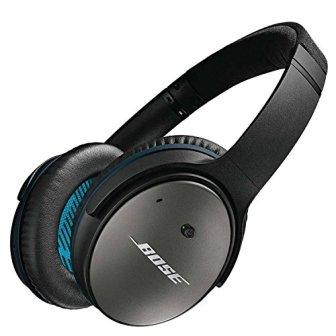 Bose QuietComfort 25 - Auriculares de diadema cerrados (Con cancelación de ruido),...