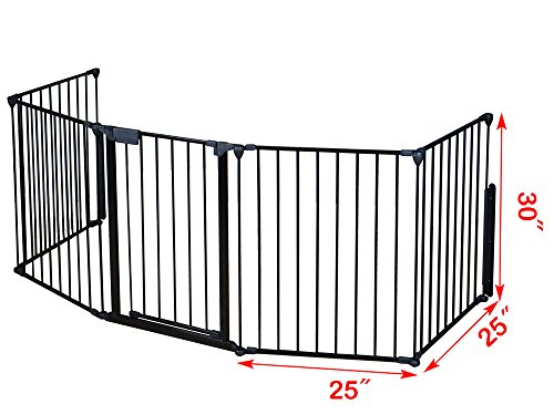 Wood Stove Baby Fence Hearth Gate Tms Baby Safety Fence Hearth Gate Bbq Metal Fire Gate