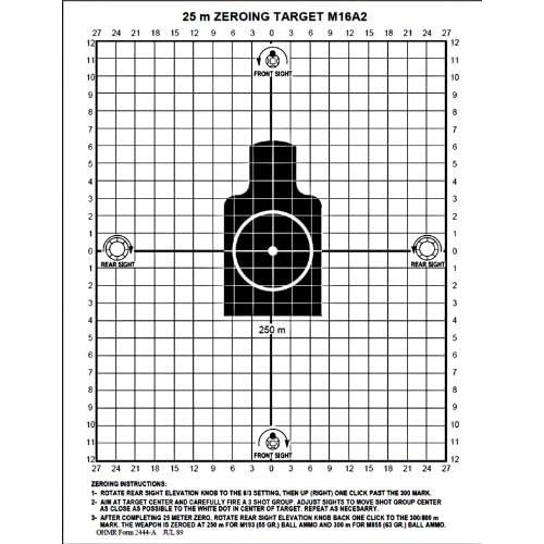 Pin M14 Zero Targets on Pinterest