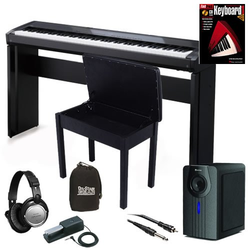 Kawai EP3 Digital Piano HOME BUNDLE+ w/ Subwoofer, Wood Bench & Stand