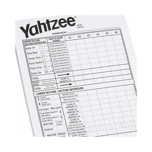Yahtzee Printable Score Sheets