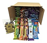 Healthy Bar Snack Mix - Sweet & Salty 50 Granola Bar Bundle - Special K, Kashi, Nature Valley + Bonus Guy & Gal Energy Mix