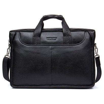 BOSTANTEN-Leather-Lawyers-Briefcase-Laptop-Messenger-Business-Bags-for-Men-Black