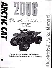 2006 ARCTIC CAT ATV 4 WHEELER 90 Y-12 YOUTH DVX PARTS