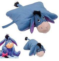 """Disney Eeyore Donkey18"""" Cuddle Pet Animal Pillow Plush"""