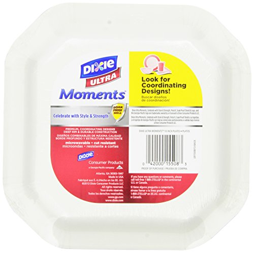 Dixie Ultra Moments Plates 10 Inch 120 Count Business