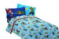 A Playfull Mario Brothers Bedding Kids Set