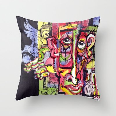 Free As A Bird Throw Pillow by 5wingerone