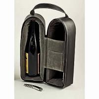 Amazon.com: Wine Carrier - Dual Wine Caddy with Bar Tool ...