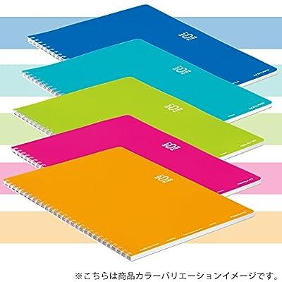 コクヨ ソフトリングノート セミB5 2冊 B罫 ブルー ス-SV301BT-BX2