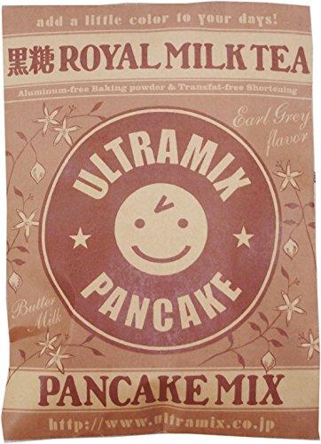 【まとめ買い】北海道産バターミルク入り ウルトラミックス黒糖ロイヤルミルクティーパンケーキミックス200g×3袋