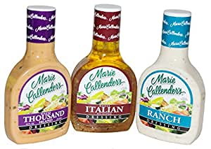 Amazoncom Marie Callenders House Salad Dressing 3Pack