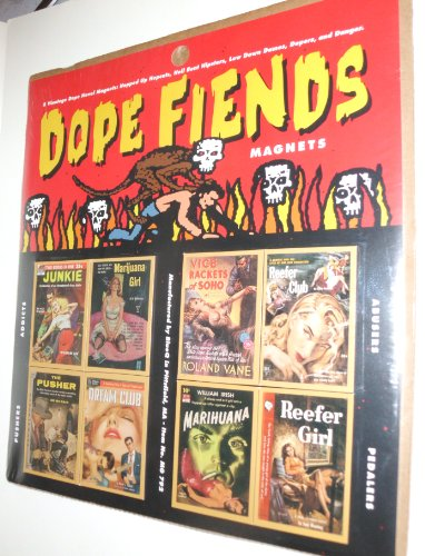 Dope Fiends Magnets - 8 Magnets - Item MG 792