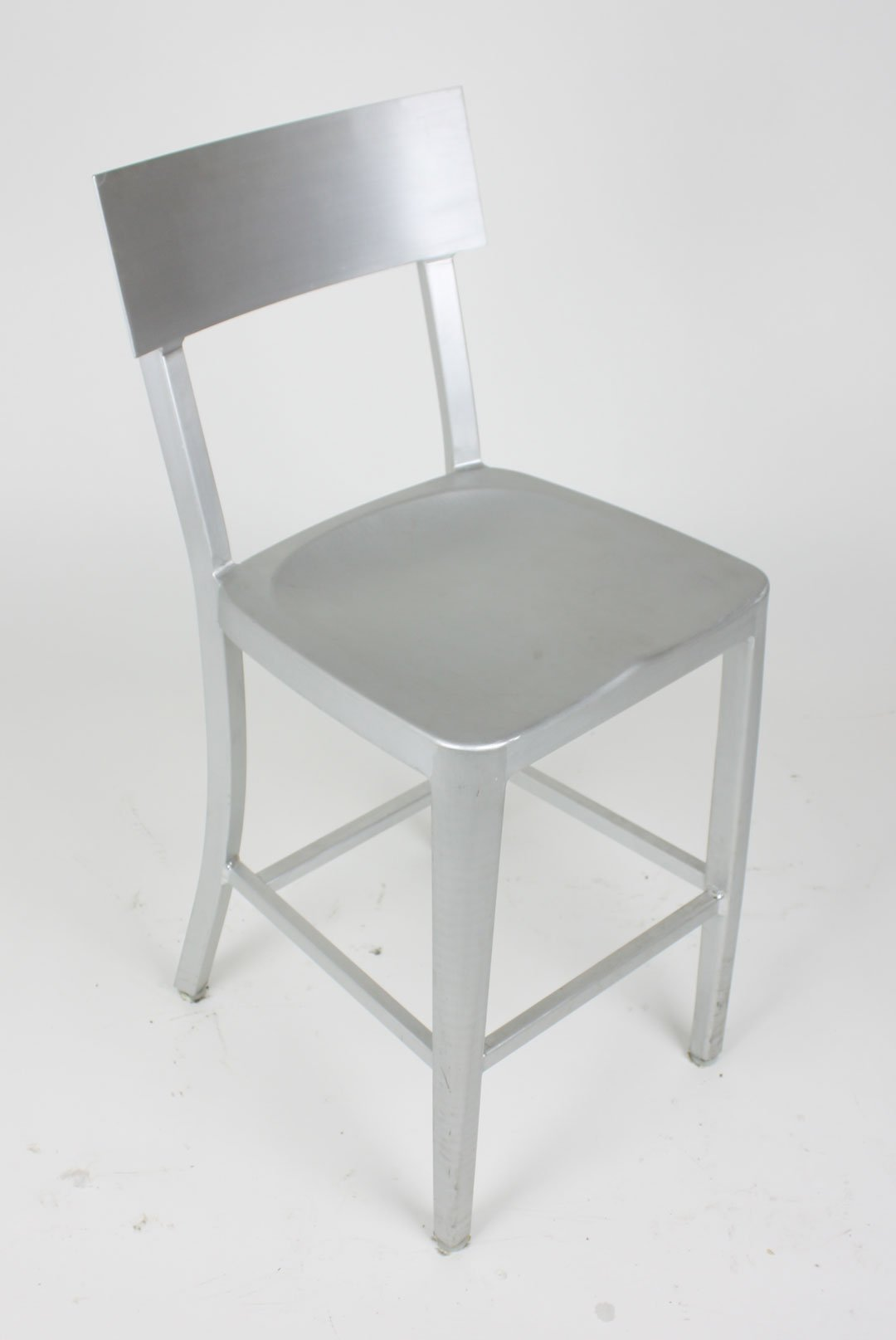 modern aluminum chair swing pepperfry cafe dining in brushed counter