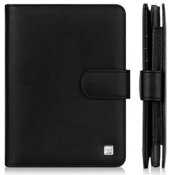 CaseCrown Regal Flip Case (Black) for Amazon Kindle Paperwhite (Built-in magnet for sleep / wake feature)