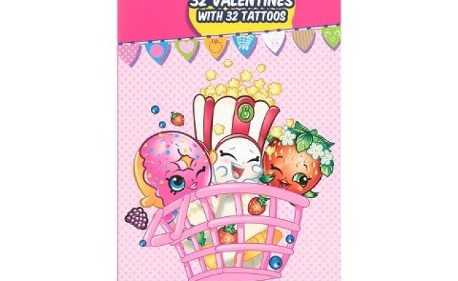 Amazon Shopkins Valentine Cards Set Only 5 99 Contains