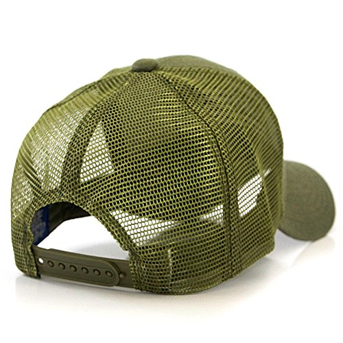 USA Flag Patch Tactical Style Mesh Trucker Baseball Cap Hat